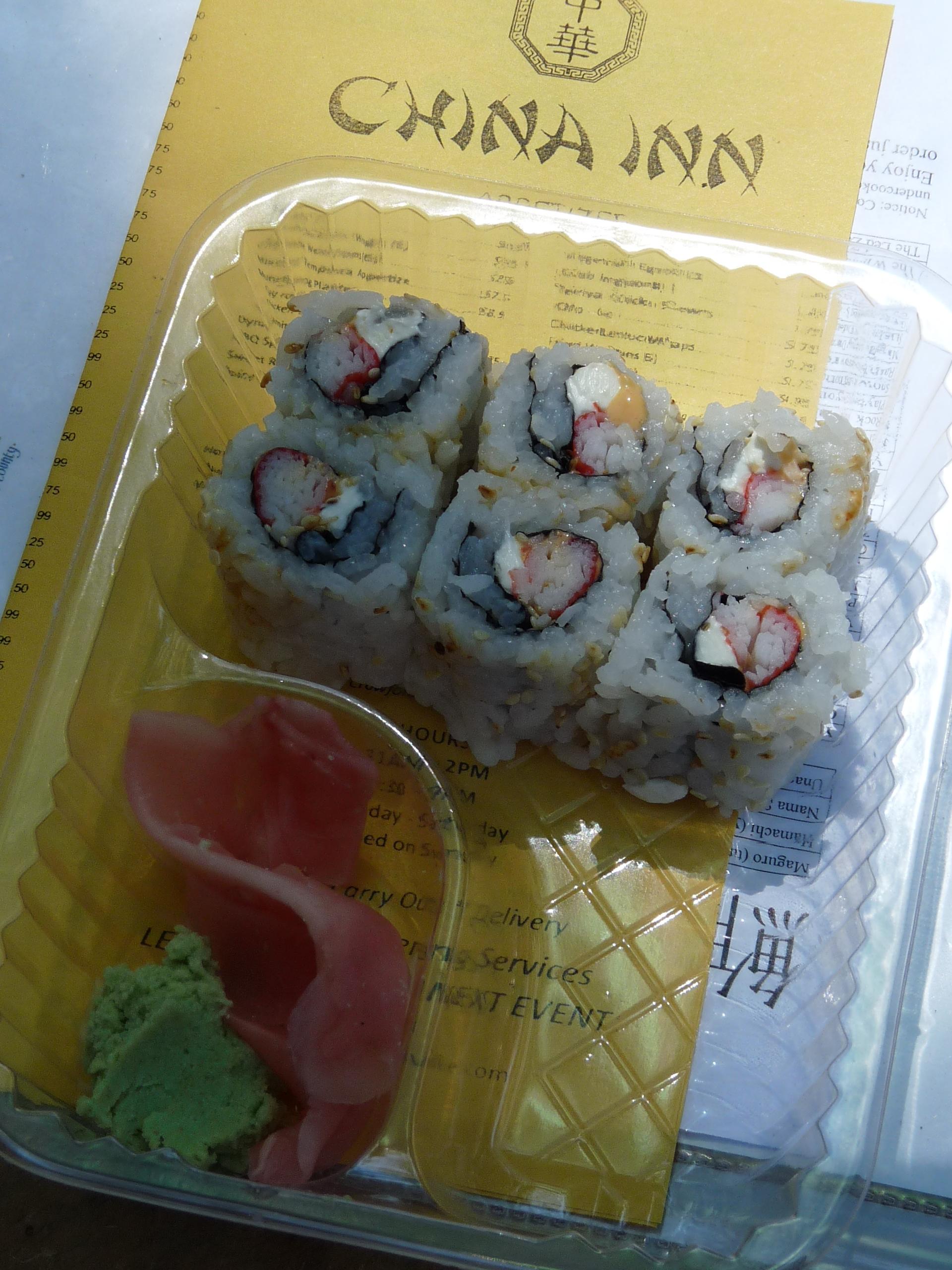 China Inn sushi