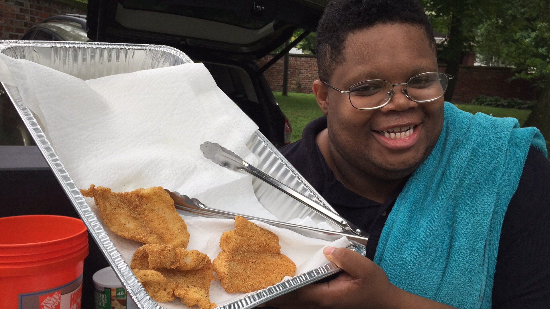 Norvell's fried fish