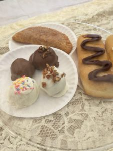 A sampling of delicious dessert food at the TASTE of Montgomery County