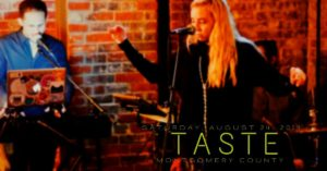 Maddie and the Roadies graphic for Twitter - Taste 2019
